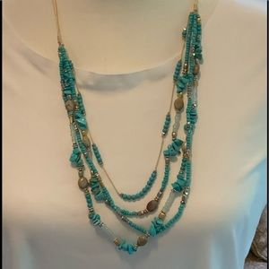 Turquoise Skies Beaded Strands